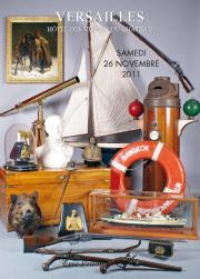 ARMES et SOUVENIRS HISTORIQUES  CANNES  FRANC-MAONNERIE   CHASSE  OBJET de MARINE 