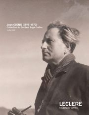 JEAN GIONO (1895-1970) Livres, manuscrits et photographies - Collection du Docteur Roger Sailles