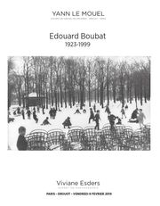 EDOUARD BOUBAT PHOTOGRAPHIES