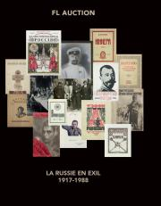 art russe : la Russie en exil : 1917 - 1988, livres, manuscrits, photographies
