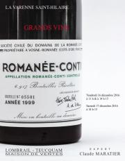 GRANDS VINS - Session 2 - Expert : C. MARATIER