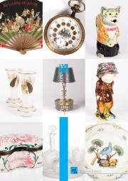 ART & DECORATION X - OBJETS D'ART - EVENTAILS - BOITES - ASIE - ARGENTERIE - MOBILIER - VINTAGE - TABLEAUX - TAPIS 
