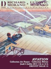 AVIATION : Collection AIR FRANCE, Concorde (11H) / Manuscrits, Collection BLERIOT (14H)