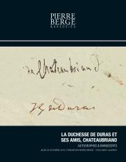 Collection d'autographes et manuscrits
