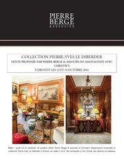 COLLECTION PIERRE-YVES LE DIBERDER