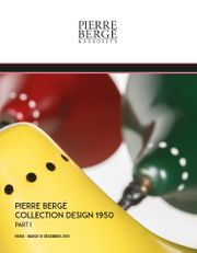 Collection de Pierre Bergé – Design 1950 - Part I