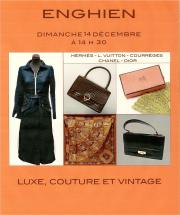 LUXE, COUTURE et VINTAGE