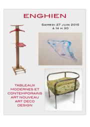 ARTS DU XXe-TABLEAUX MODERNES ET CONTEMPORAINS-ART DECO-DESIGN