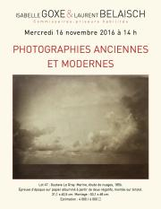 photographies XIXe - XXe