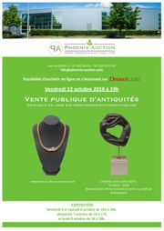 VENTE PUBLIQUE D'ANTIQUITES