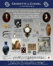 TABLEAUX ANCIENS, MODERNES, MOBILIER & OBJETS d'ART- OBJETS DE VITRINE- MONNAIES et VINS