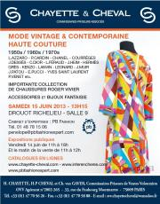 MODE VINTAGE & CONTEMPORAINE- ANNEES 1950/60 et 70'