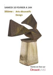 Arts Decoratifs XXeme Design