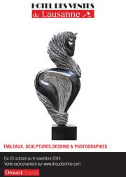 TABLEAUX, SCULPTURES, DESSINS & PHOTOGRAPHIES CONTEMPORAINES