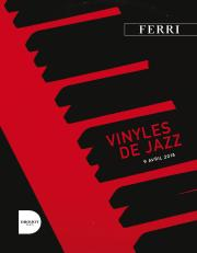 COLLECTION DE VINYLES DE JAZZ - R. OUZINA