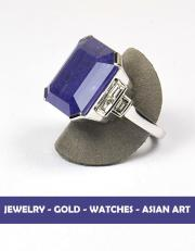 Jewelry - Gold - Watches - Asian Art - Succession de Mme B and Divers