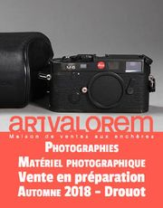 VENTE ONLINE EN PREPARATION PHOTOGRAPHIES ET MATERIEL PHOTOGRAPHIQUE