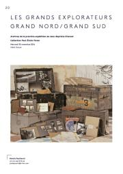 LES GRANDS EXPLORATEURS <br> GRAND NORD / GRAND SUD<br> Collection Paul Emile Victor <br> Archives de la première expédition de Jean Baptiste Charcot