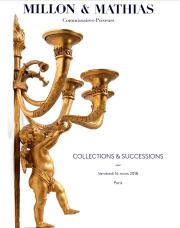 COLLECTIONS & SUCCESSIONS<br>Mobilier & Objets d'Art
