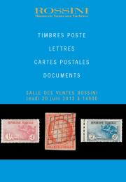 TIMBRES POSTE - LETTRES - CARTES POSTALES