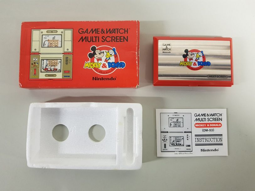 GAME & WATCH Mickey & Donald (DM-53) Cache…