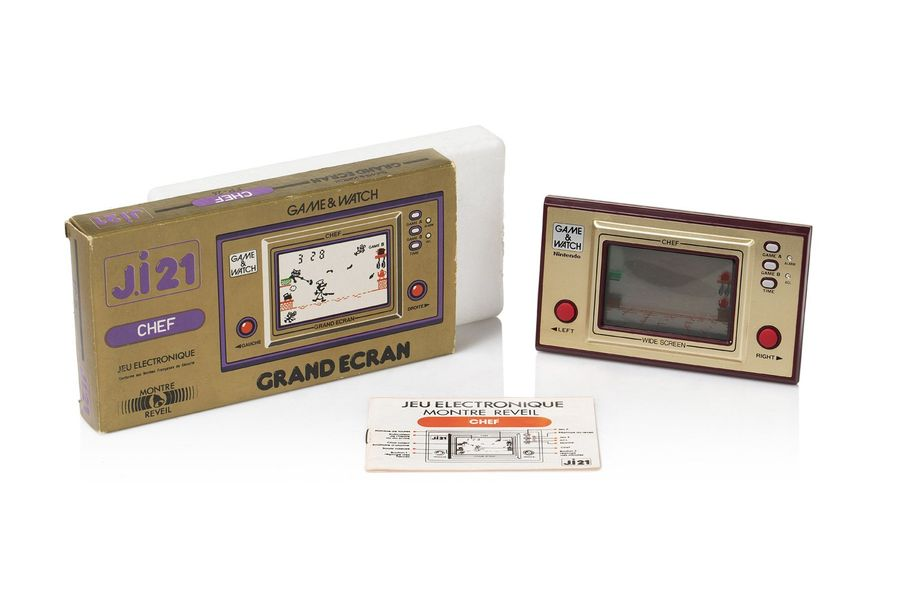 GAME & WATCH Chef (FP-24) Version française…