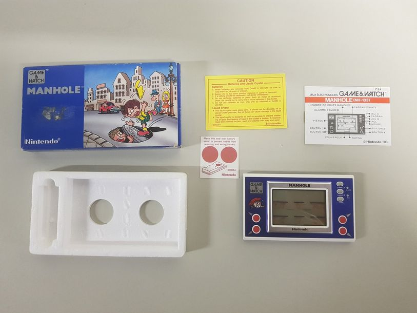 GAME & WATCH Manhole (NH-103) Complet vendu…