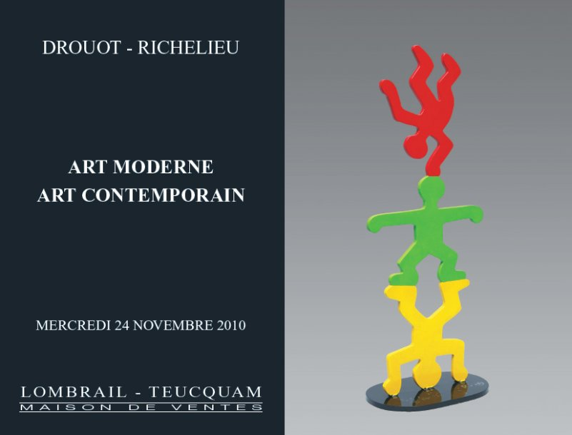 TABLEAUX ET SCULPTURES MODERNES - ART MODERNE & CONTEMPORAIN