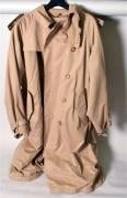 Polo by Ralph Lauren Trench pour homme en gabardine beige, large col, double boutonnage,...