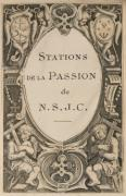 [LEYDE – Petite Passion]. S. l., 1521. Grand in-12 (102 x 170 mm), maroquin rouge,...