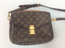 "Louis VUITTON Collection 2014  Pochette "" Métis "" 24cm en toile monogram et cuir..."
