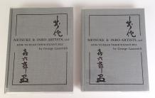"Deux ouvrages reliés "" Nesuke et Inro artists and how to read their signatures ""..."