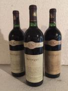 3 Blle BERINGER (Nappa Valley/Californie) 1988 - Belles