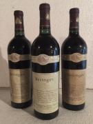 3 Blle BERINGER (Nappa Valley/Californie) 1989 - Belles
