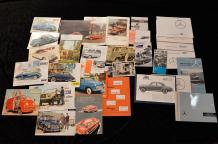 """Catalogues, marques Allemandes (DE): Auto-Union, D.K.W, GOLIATH, LLYOD et MERCEDES-BENZ..."