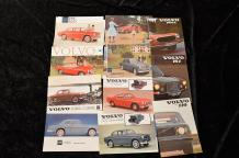 """Catalogues Volvo de 1945 à 1980""  De 1945 à 1949 : ""The Volvo Review"", 46 pages,..."
