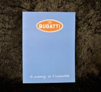 """Catalogue Bugatti type 57, 1937-1938""  Catalogue In 4° de 28 pages sur papier fort,..."