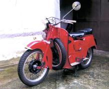 1960  Moto Guzzi  Type Galletto 192  Moteur 160 cc - N° 63280  Titre de circulation...