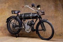 1913  Magnat Debon  type 400 CC  N°1667 - Puissance : 4 HP  Carte grise de collection...