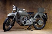 1957  Moto Guzzi 500 Falcone  500 cc - Titre de circulation italien  N° cadre FAN...