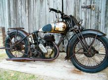 Norton  Type 16 H  Moteur 500 cc n° W83998  A immatriculer en collection Le Norton...