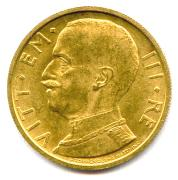 ITALIE – VICTOR EMMANUEL III (1900 – 1946) 50 Lire or 1932 an X Rome. Fr 34 Supe...