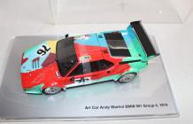 Andy WARHOL ( 1928-1987) « Art Car Museum Edition » - « BMW M1 Group 4-1979- Art...