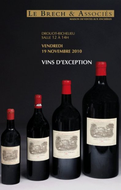 Vins d'exception - Vente en direct - Vente en live
