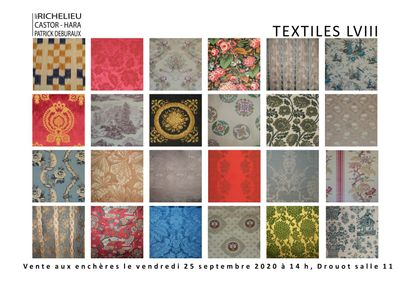 TEXTILES DE DECORATION