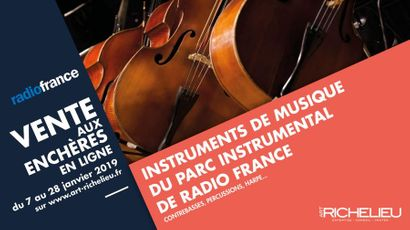 Instruments de musique du Parc instrumental de Radio France