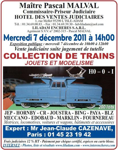 COLLECTION DE TRAINS - JOUETS ET MODELISME