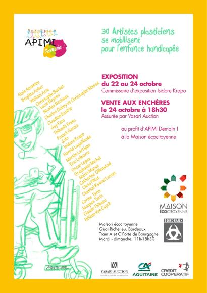 VENTE CARITATIVE - A.P.I.M.I Demain