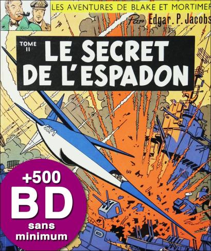 BD DE COLLECTION - IMPORTANT FOND DE LIBRAIRIE SANS PRIX MINIMUM