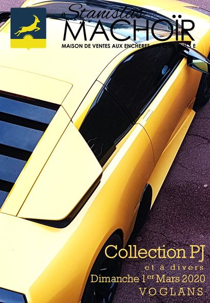 AUTOMOBILES & AUTOMOBILIA | COLLECTION P.J. ET A DIVERS